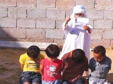 داعش اطفال